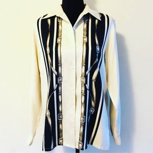 Vintage Jones New York Silk Blouse